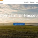Webseite der CDU Hasselroth